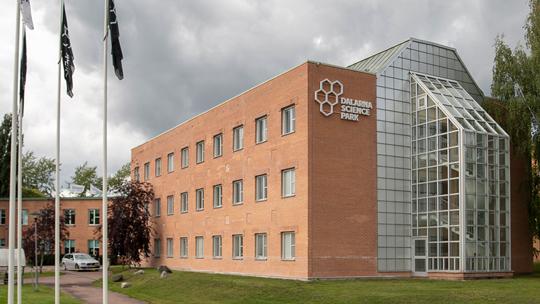 Byggnadnen där Dalarna Science Park huserar